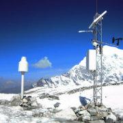 Lufft Snow Depth Sensor SHM30 in operation at Yala Glacier, Himalaya